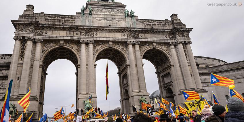 Catalan Protestors