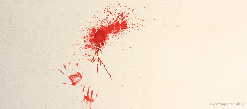 Fake Blood Prints