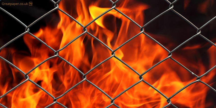 Fire in Cage